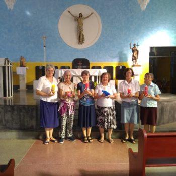 Irmãs das duas comunidades da Bahia. São João do Panelinha_Camacan e irmãs de São João do Paraíso
